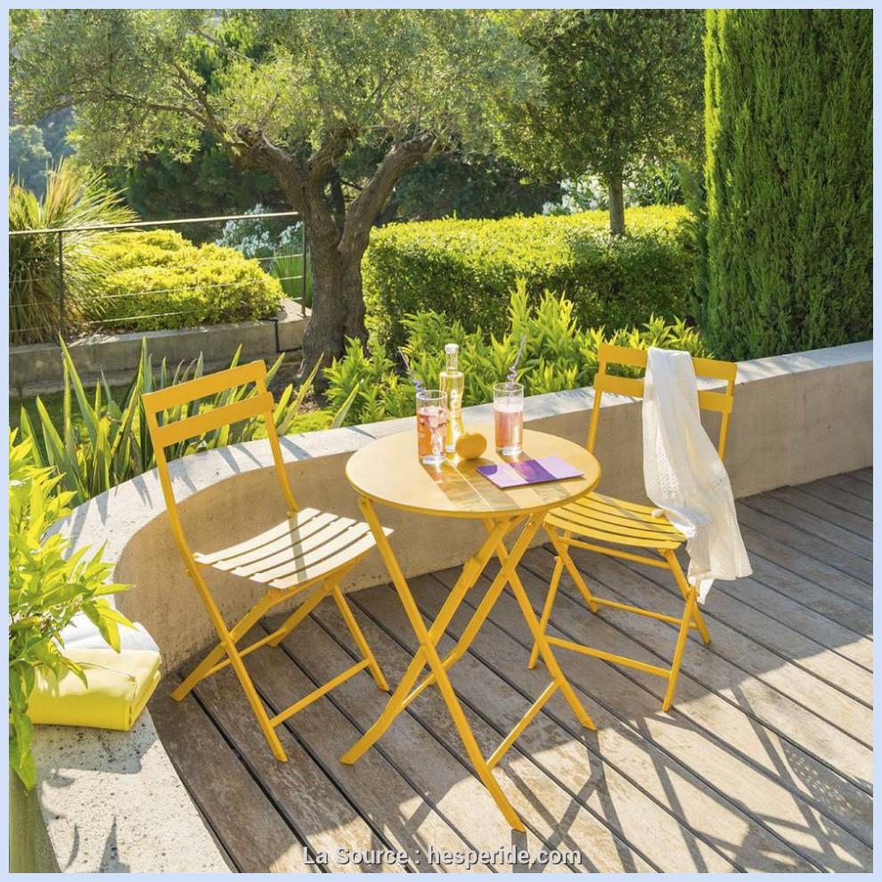 Tables Mobilier De Jardin Hespéride Table Basse Saona Tonka ... intérieur Hesperide Meuble Jardin