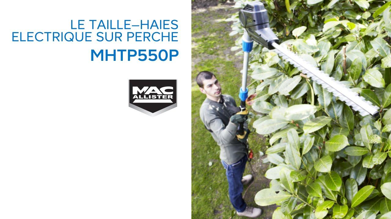 Taille Haies Sur Perche Électrique Mphtp550 Mac Allister (634466) Castorama destiné Castorama Taille Haie