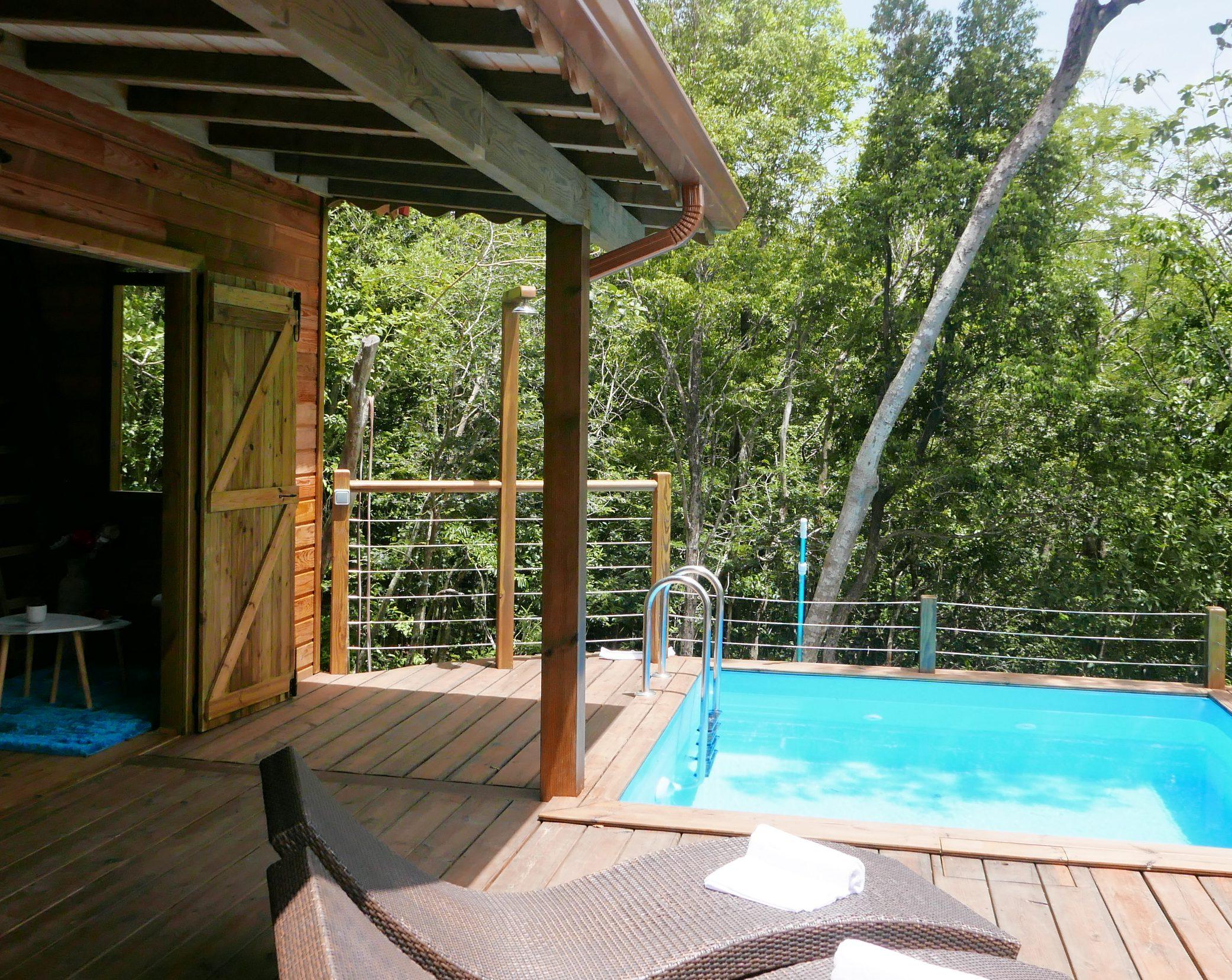 Tendance Eco-Lodge : L'exemple Du Jardin Des Colibris En ... dedans Jardin Des Colibris Guadeloupe