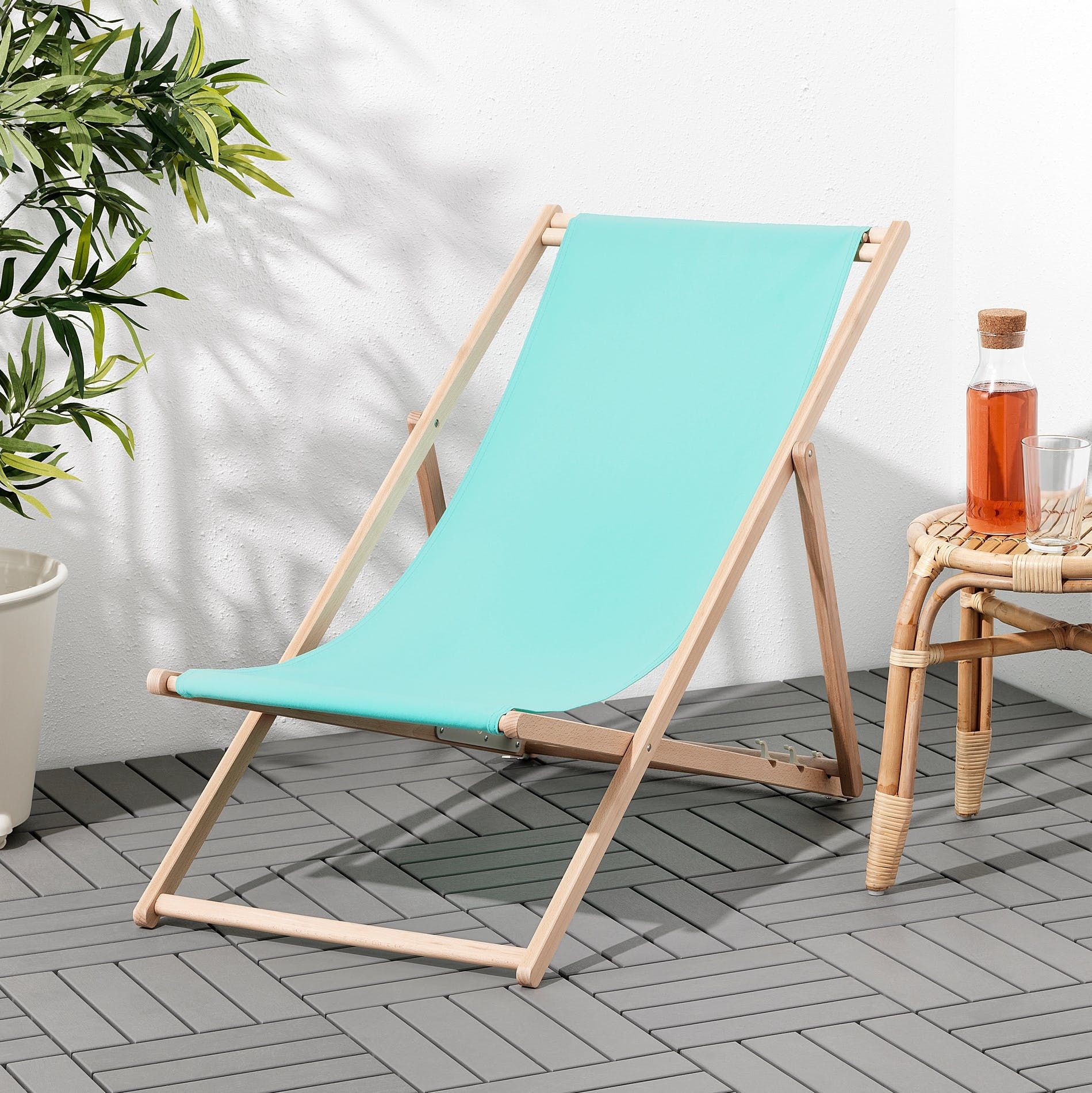 The Cutest Ikea Patio Items Under $100 You Need For Summer ... encequiconcerne Transat Jardin - Ikea
