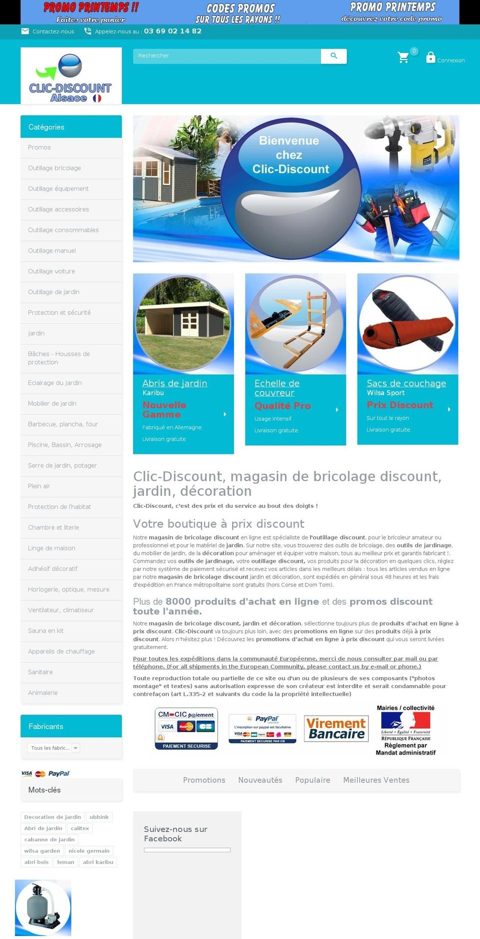 Theme1184 Prestashop Theme Store Examples, Theme1184 Theme ... concernant Abri Discount