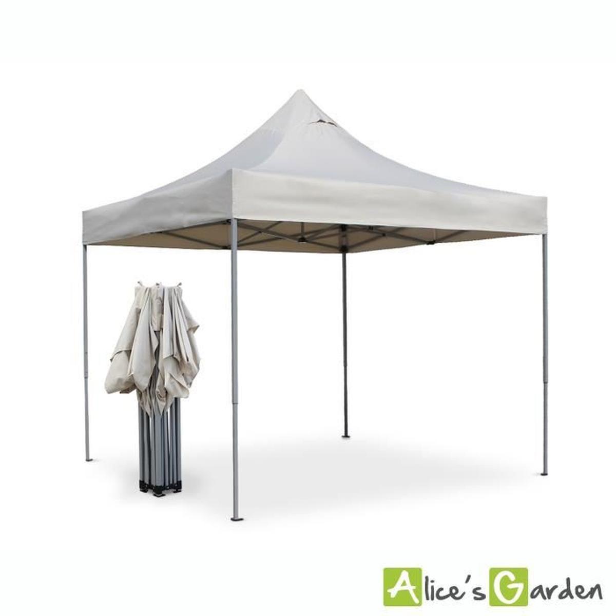 Tonnelle Pliante Premium Apertus 3X3, Tente De Jardin Pop Up ... encequiconcerne Alice Garden Tonnelle