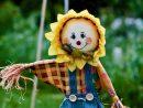Tous Nos Conseils Pour Fabriquer Un Bel Épouvantail concernant Épouvantail Jardin