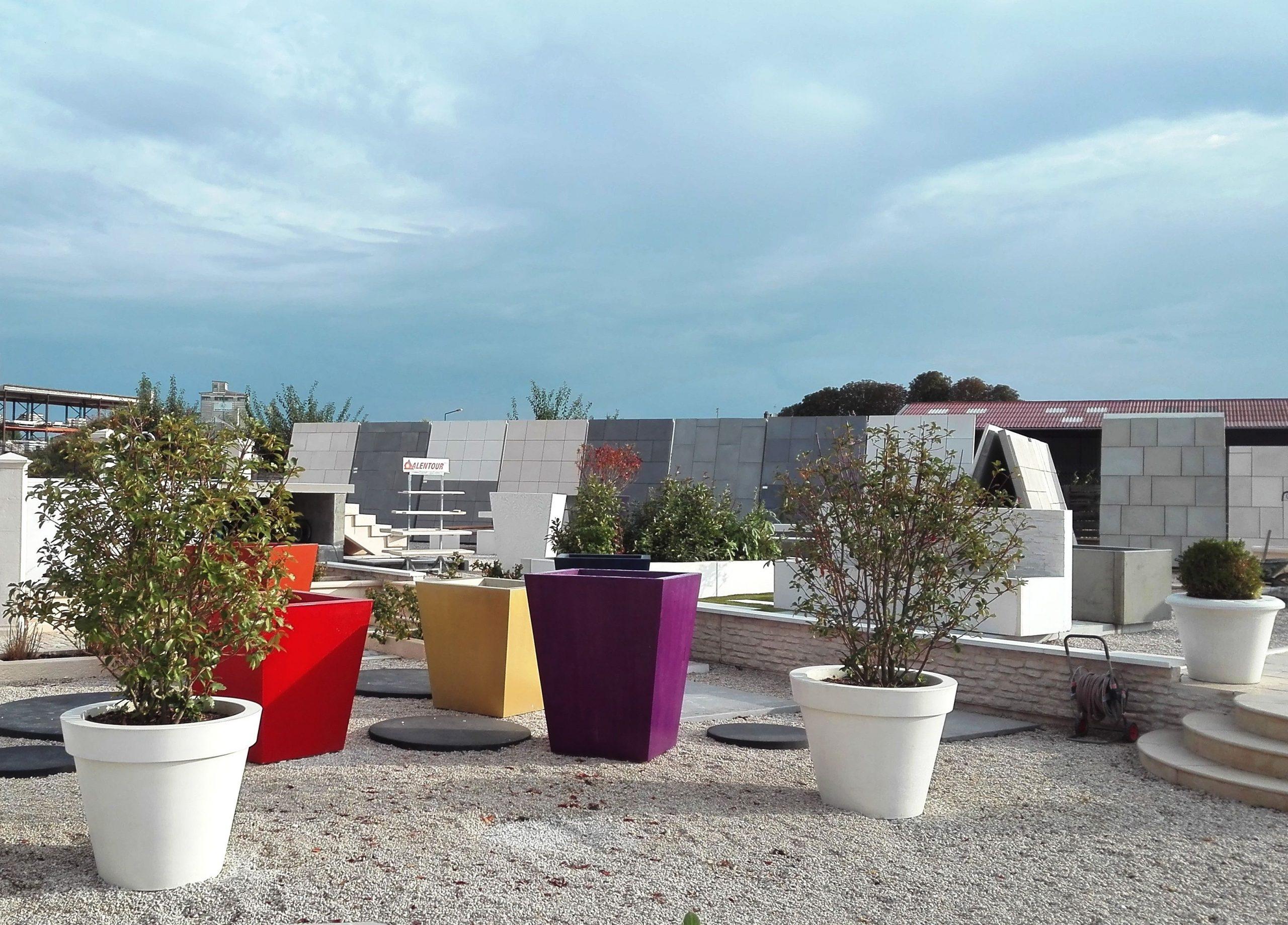Très Grand Pot De Jardin (Pot De Fleurs Xxl, Pot De Fleurs ... concernant Grand Pot Pour Jardin
