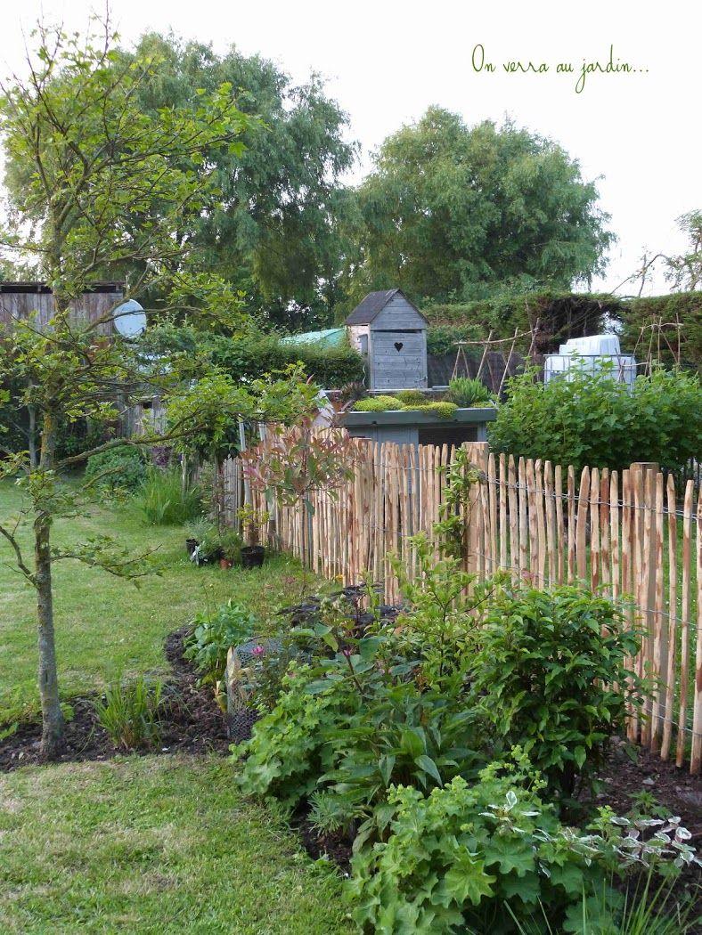 Un Enclos Pour Les Poules... | Amenagement Jardin, Terrasse ... tout Enclos Jardin