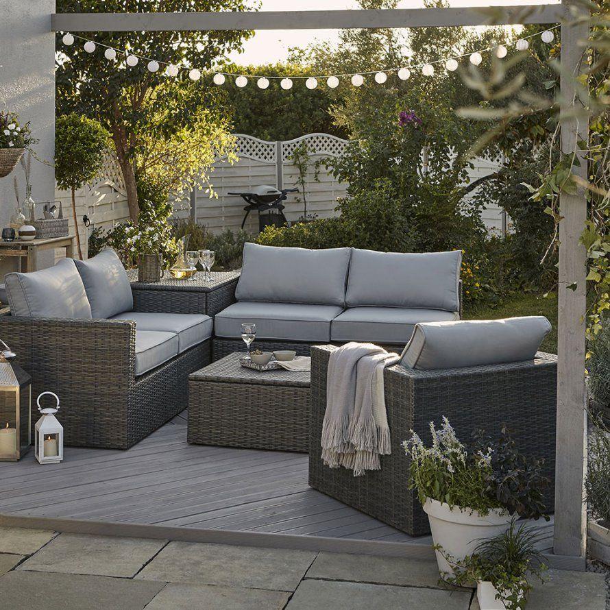 Un Salon De Jardin En Rotin, Ikea En 2020   Meuble Jardin ... avec Salon De Jardin Petit Prix