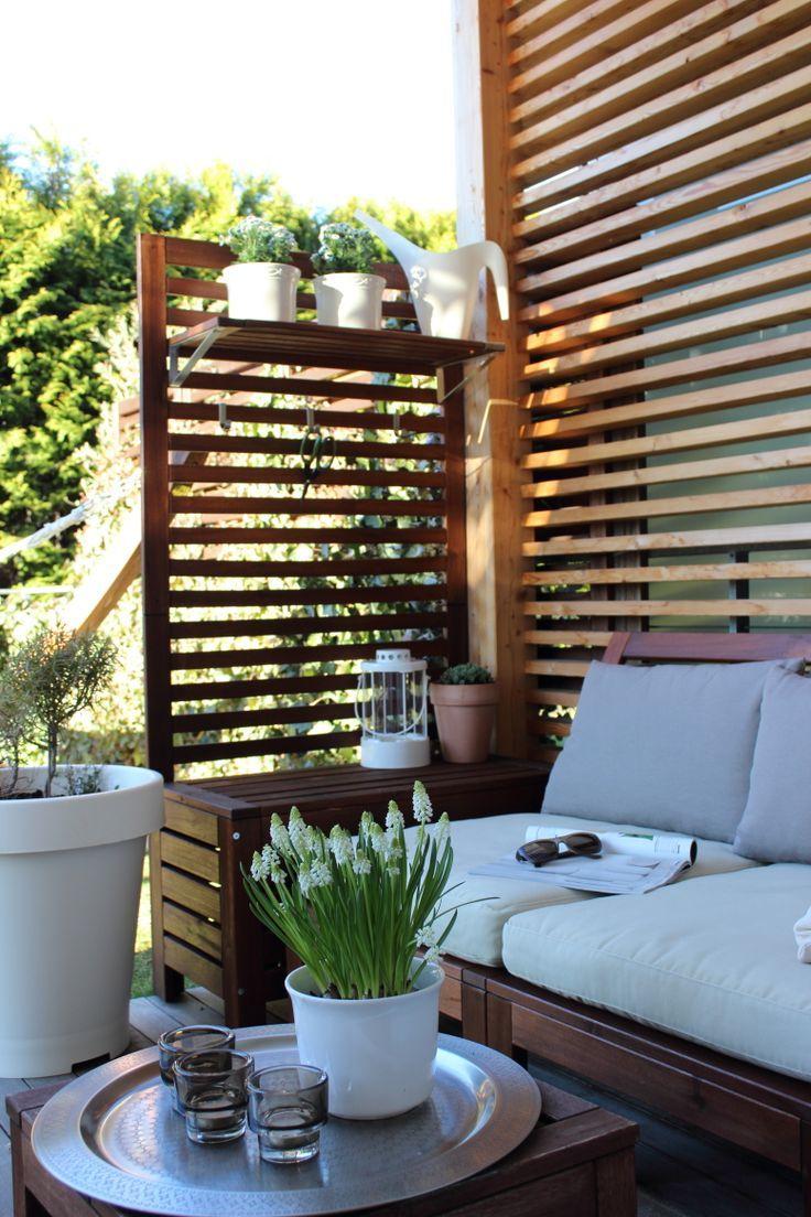 Un Siège Sur La Terrasse, Le Jardin, Les Meubles De Jardin ... concernant Meubles Jardin Ikea