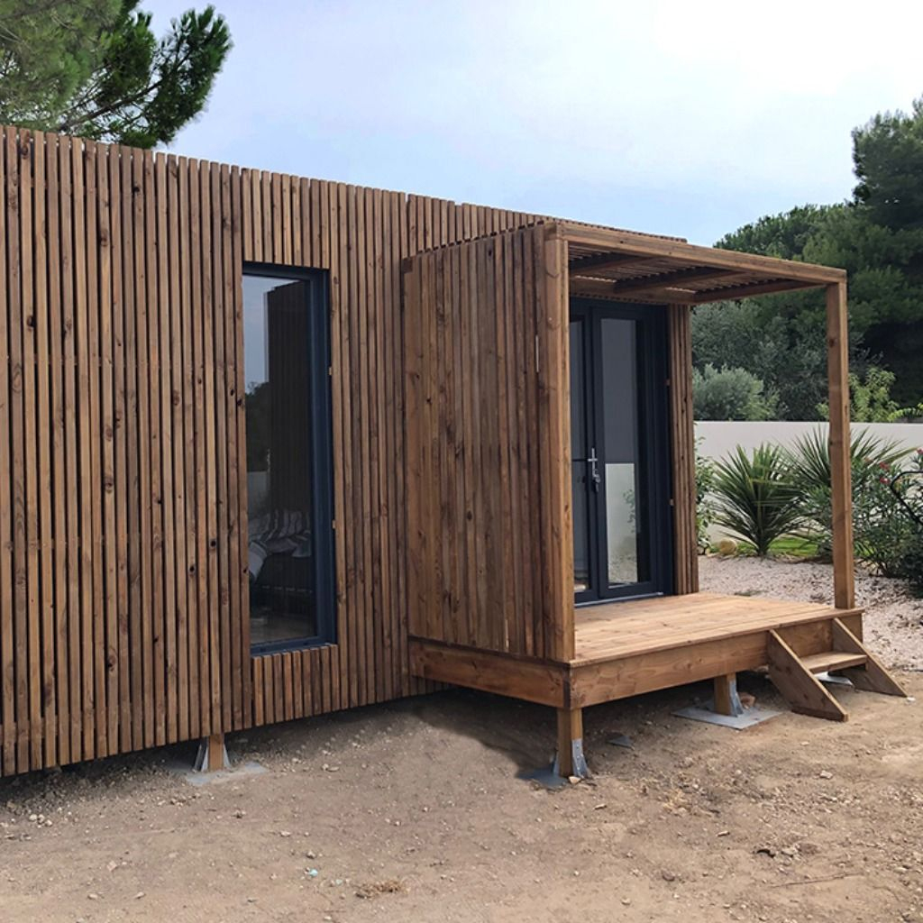 Un Studio De Jardin Greenkub Vous Permet De Gagner Jusqu'à ... serapportantà Abri Jardin 30M2