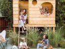 Une Cabane Diy Pour Les Enfants | Cabane Diy, Jardin Pour ... concernant Abri Jardin Enfant