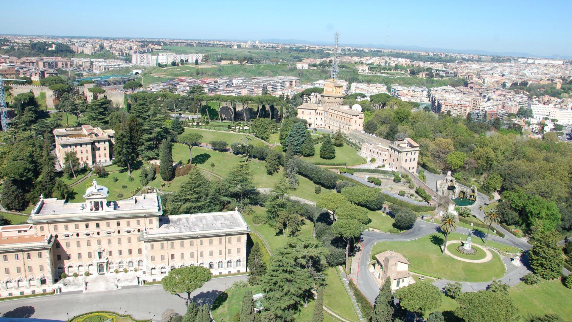 Une 'île Écologique' Dans Les Jardins Du Vatican – Portail ... pour Jardin Du Vatican