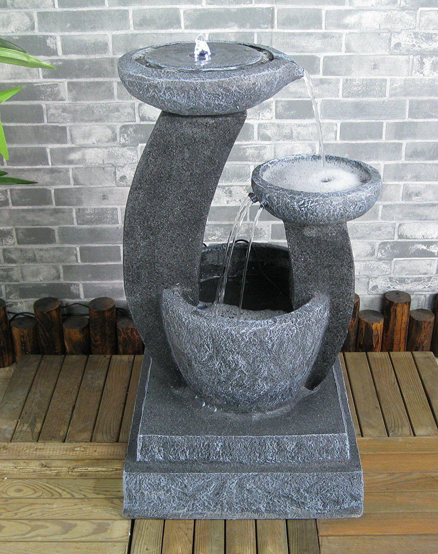 Une Jolie Fontaine Solaire Pour Jardin Zen En Extérieur ... intérieur Fontaine De Jardin Solaire