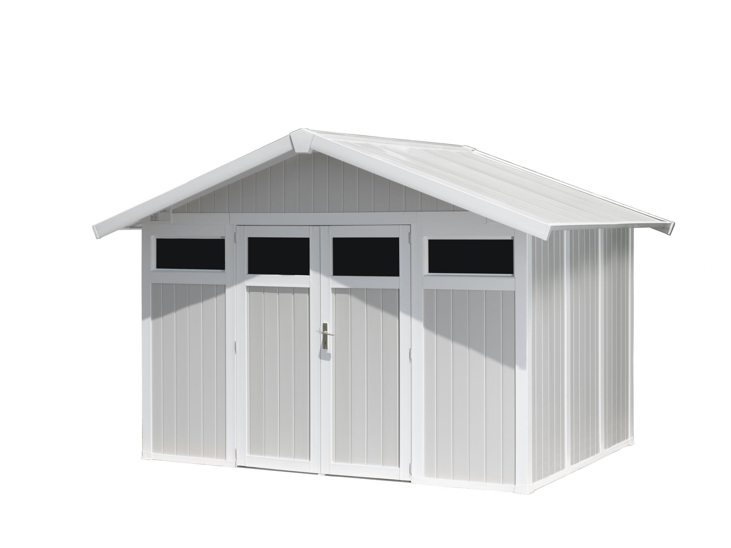 Utility Garden Shed 7,5 M² | Grosfillex tout Grosfillex Abri De Jardin Pvc