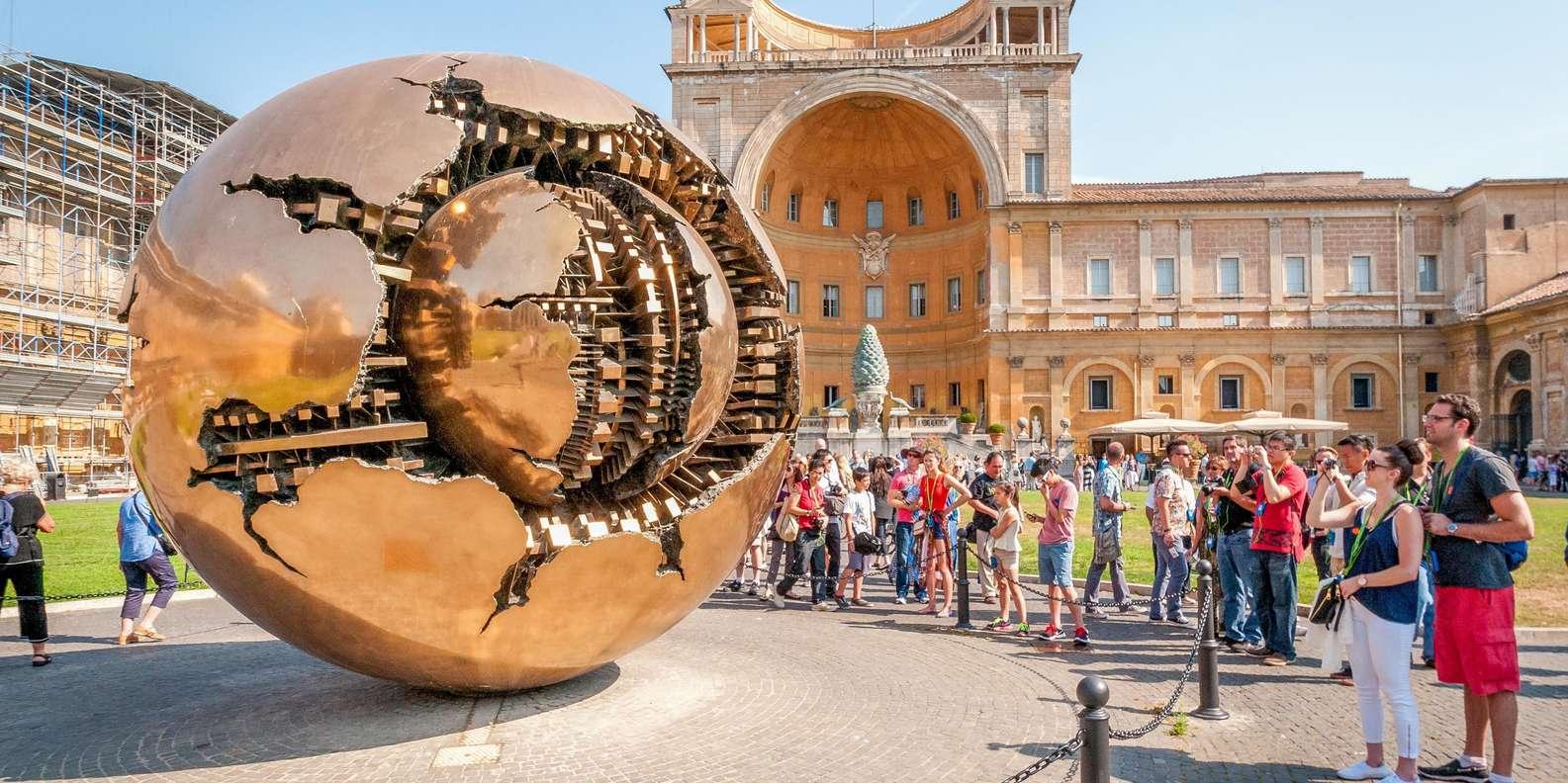 Vatican : Musées Et Chapelle Sixtine Avec Billet Coupe-File tout Jardin Du Vatican