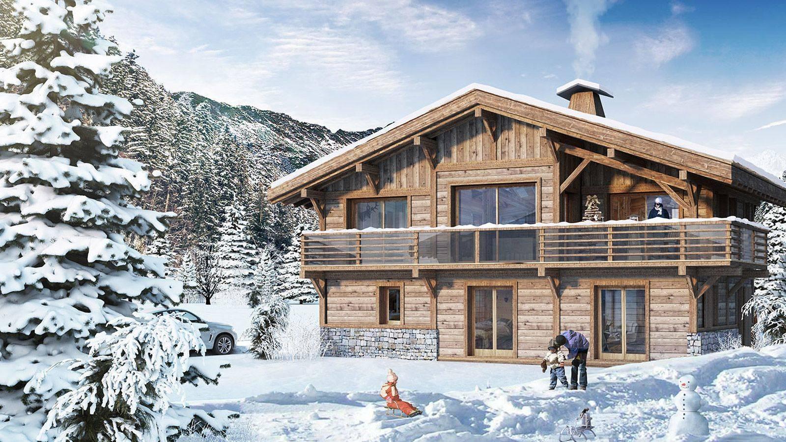 Vente Chalet 154 M² Neuf Chamonix-Mont-Blanc À 74400 1 824 000 € pour Achat Chalet Chamonix