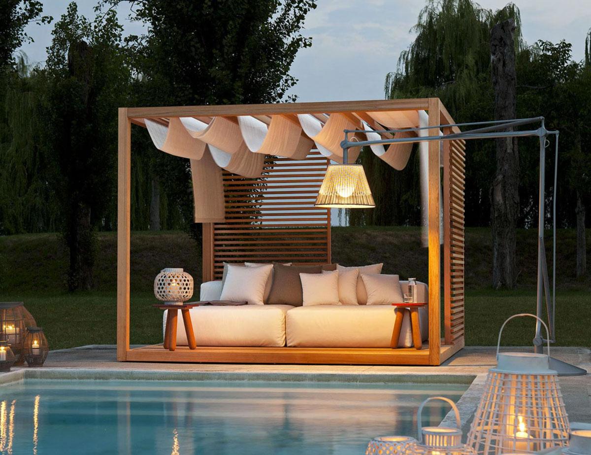 Votre Jardin Mérite Le Mobilier Haut De Gamme - Idkrea - Rennes dedans Mobilier De Jardin Design De Luxe