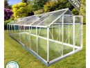 Serre De Jardin Aluminium 9M² Plaques Transparente Anti-Uv concernant Serre En Polycarbonate