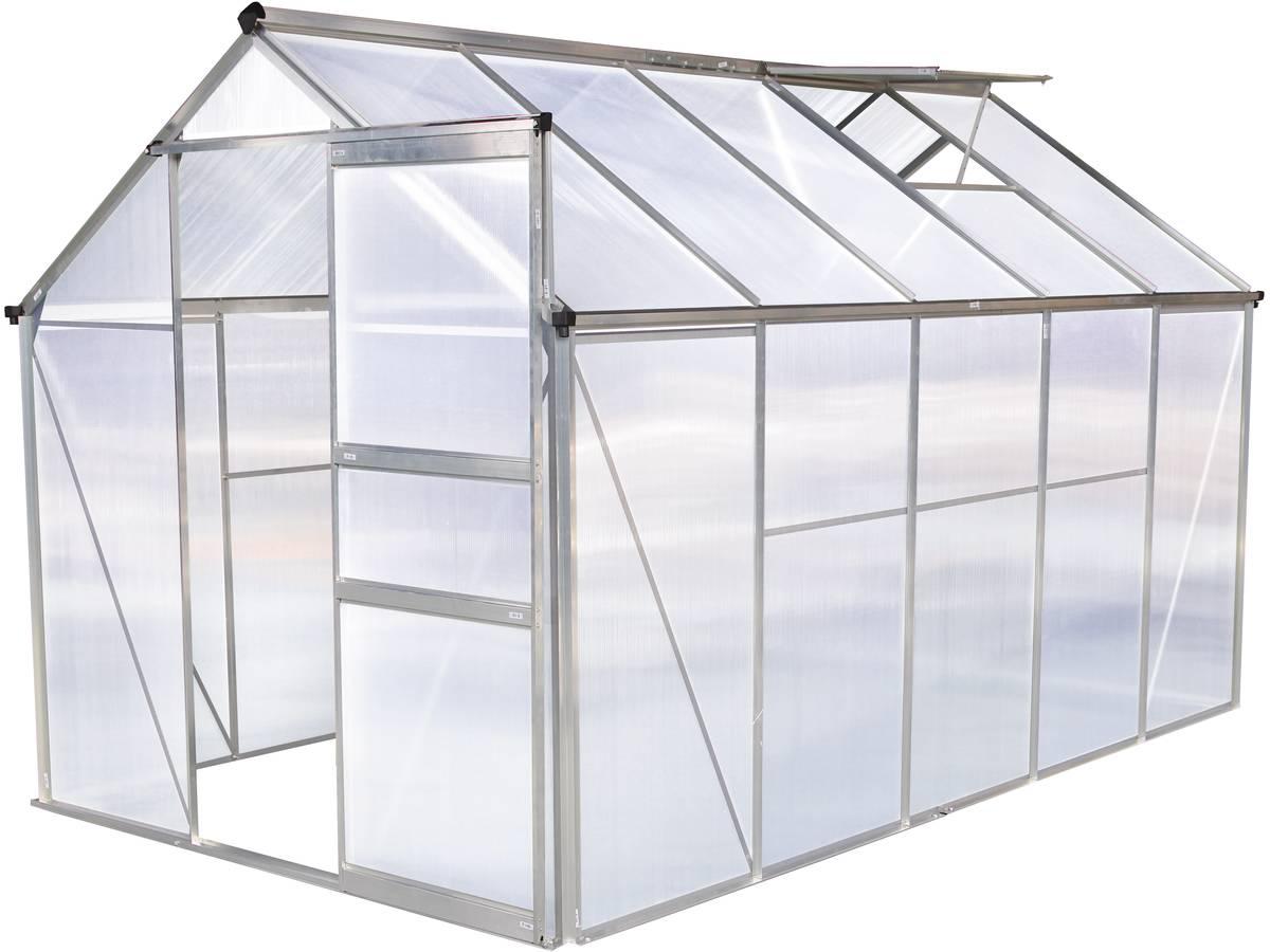 "Serre Jardin Polycarbonate ""hortensia""6M² 99647 99650 encequiconcerne Serre En Polycarbonate"